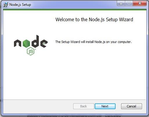 instal node js