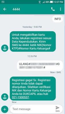 registrasi kartu indosat gagal 5x
