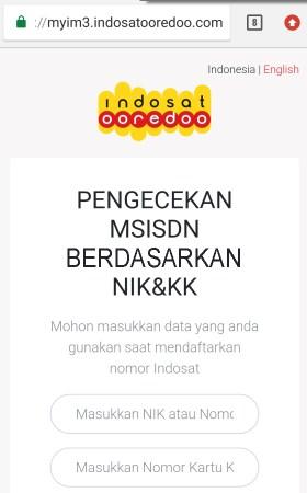 registrasi kartu indosat online