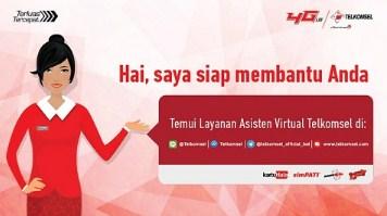 virtual asisten telkomsel